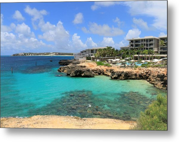 Four Seasons Hotel In Anguilla Metal Print