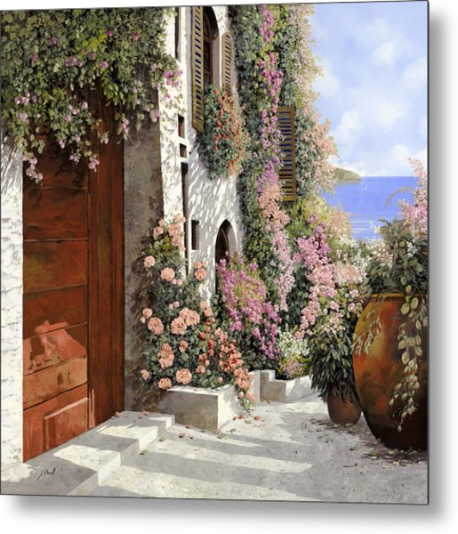 four seasons- spring in Tuscany Metal Print