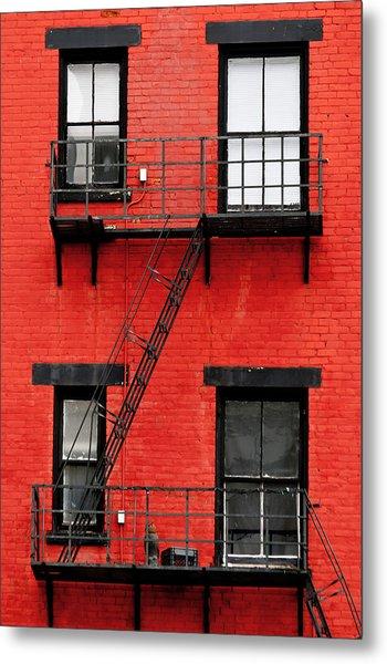 Four Windows Metal Print