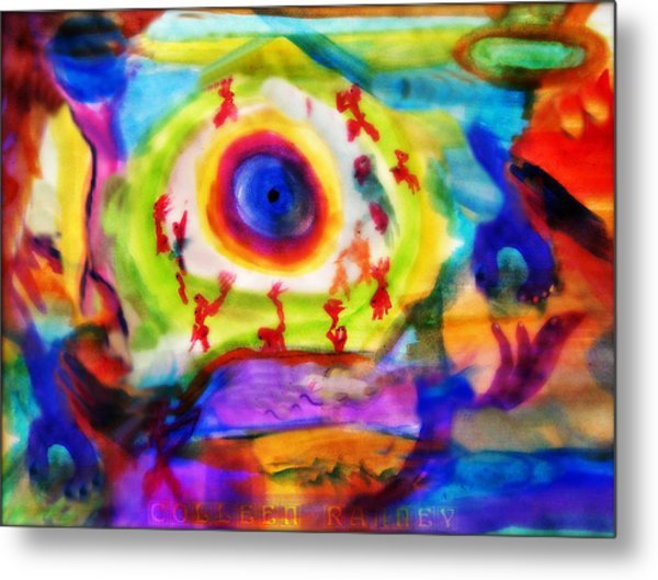 Four Winds By Colleen Ranney Metal Print