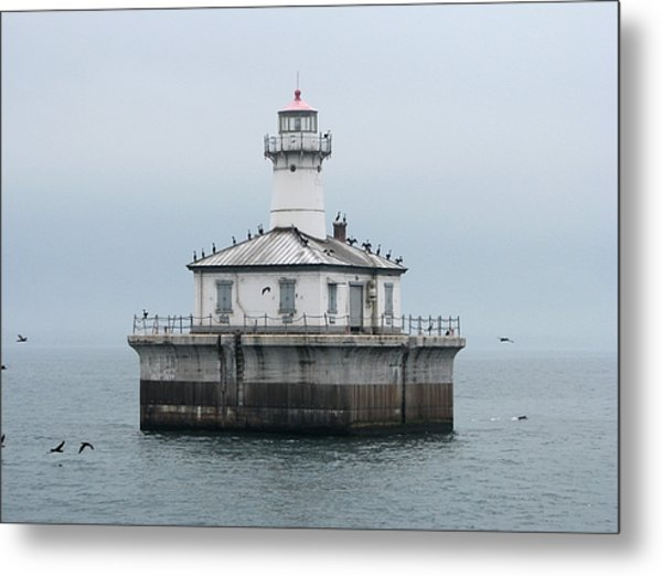 Fourteen Foot Shoal Light  Metal Print