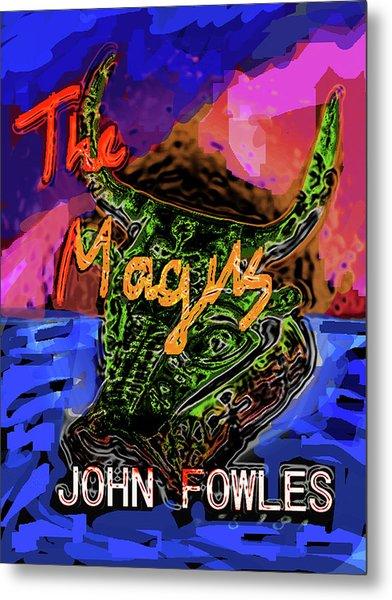 Fowles Magus Poster  Metal Print
