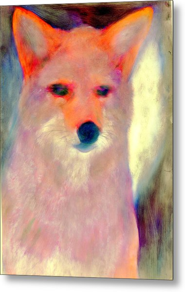 Fox Spirit Metal Print