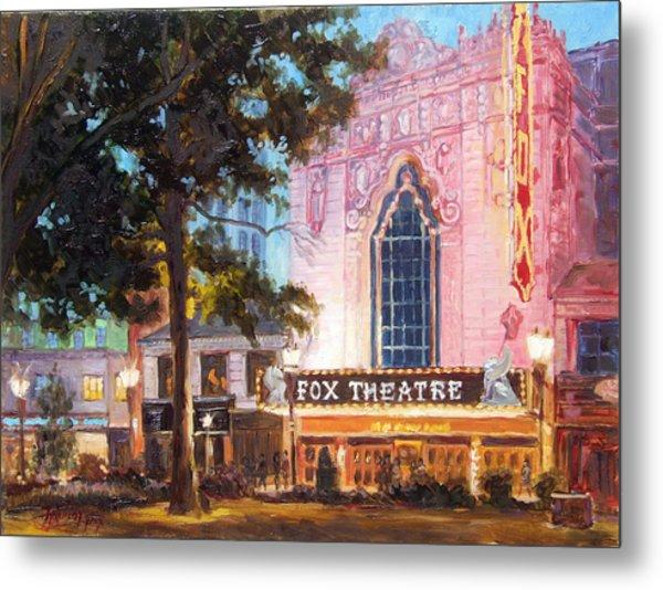Fox Theatre In St.louis Metal Print
