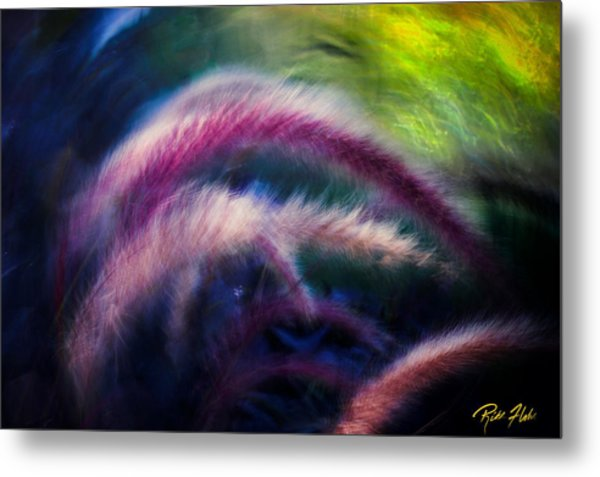 Foxtails In Shadows Metal Print