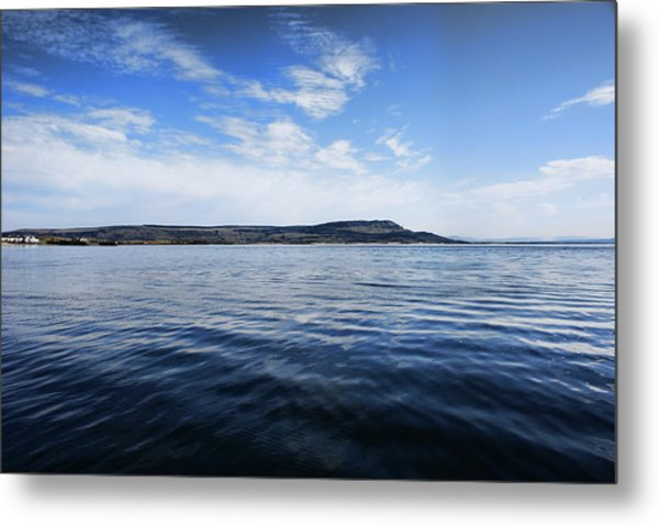Foyle Ferry Crossing Metal Print