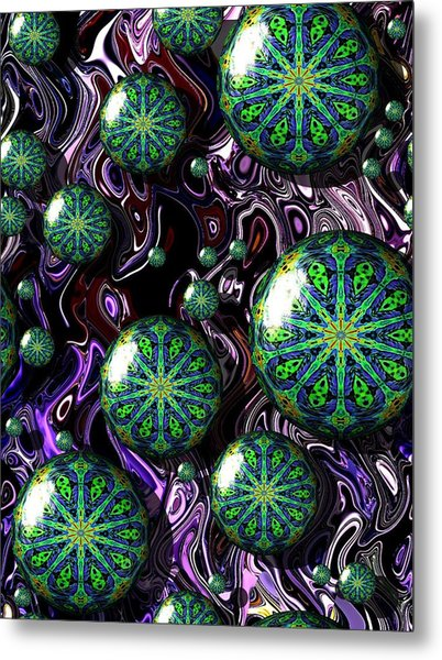 Fractal Abstract 7816.5 Metal Print