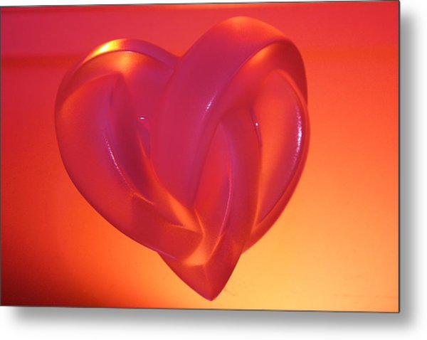 Fragile Handle With Care Metal Print by Yvonne Ayoub