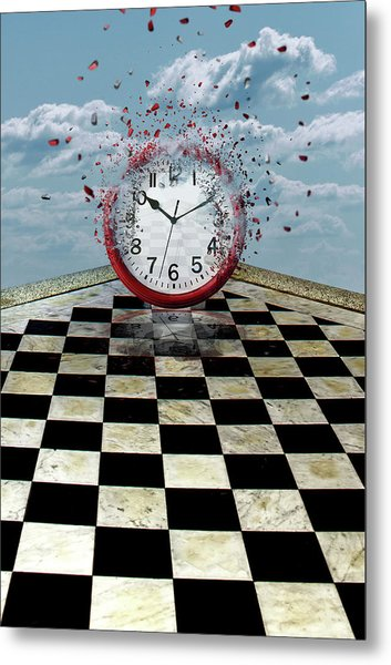 Fragments Of Time Metal Print