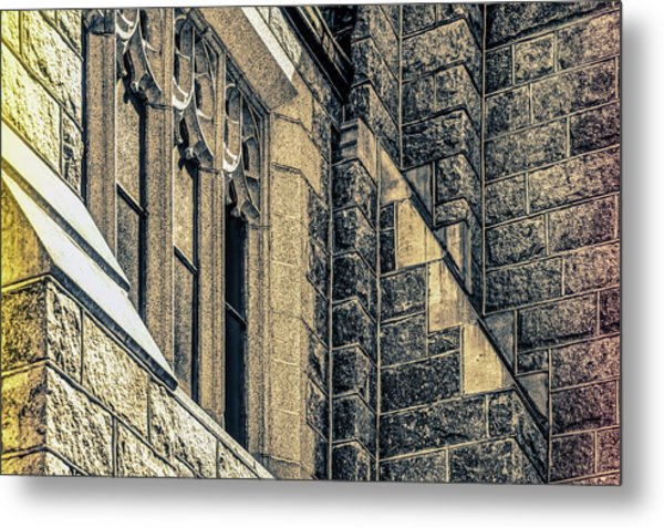 Franco Center Lewiston Maine Metal Print