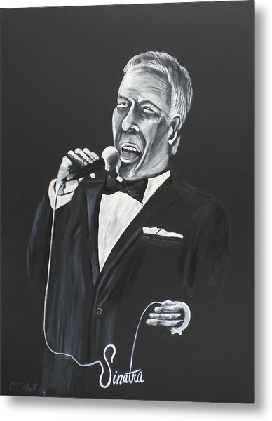 Frank Metal Print by Colin O neill