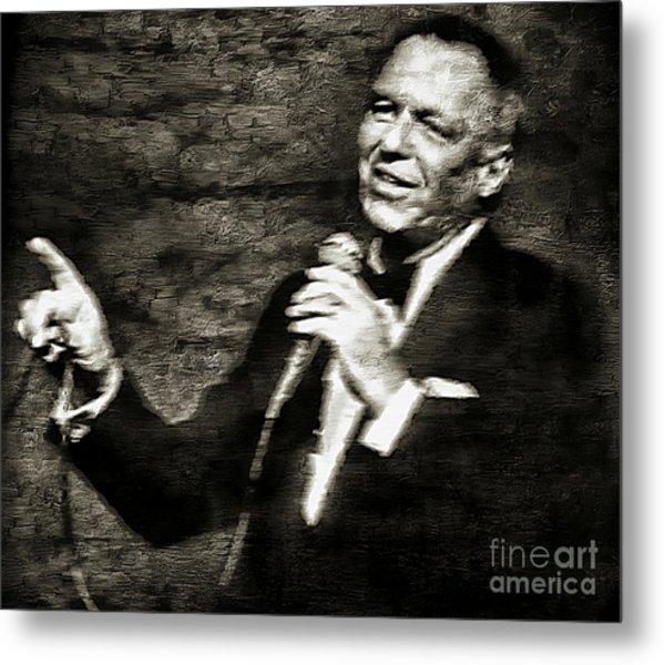 Frank Sinatra -  Metal Print