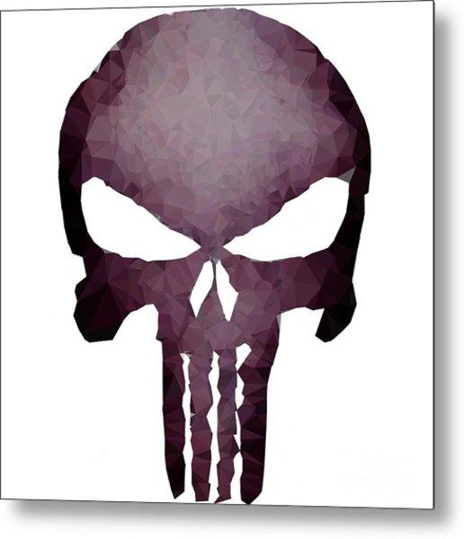 Frank Skull Metal Print