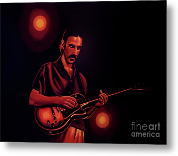 Frank Zappa 2 Metal Print