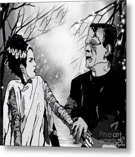 Frankenstein Metal Print