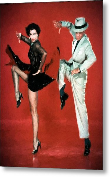 Fred And Cyd Metal Print