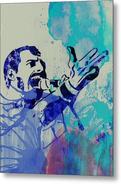 Freddie Mercury Queen Metal Print