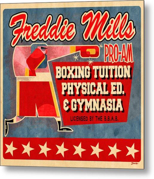 Freddie Mills Metal Print