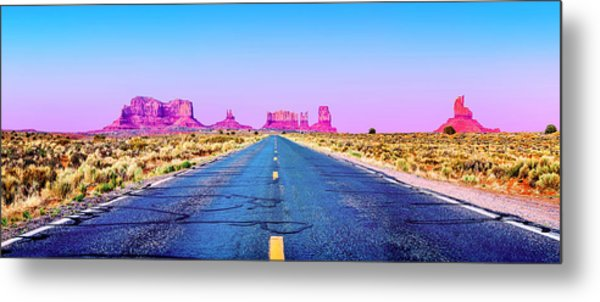 Freedom Metal Print by Az Jackson