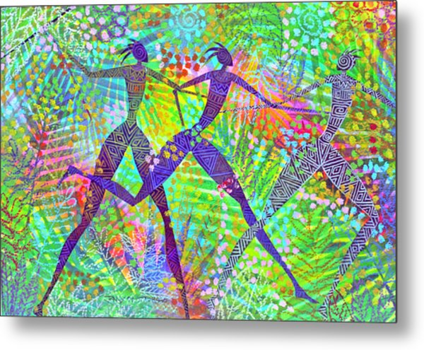 Freedom In The Rain Forest Metal Print by Jennifer Baird