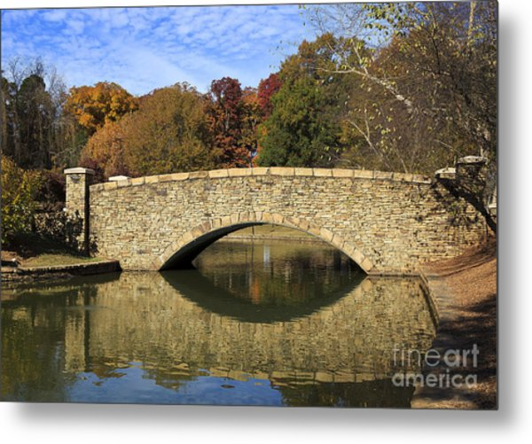 Freedom Park Bridge Metal Print