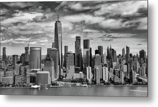 Metal Print featuring the photograph Freedom Tower by Rand