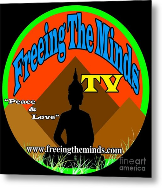 Freeing The Minds Supporter Metal Print
