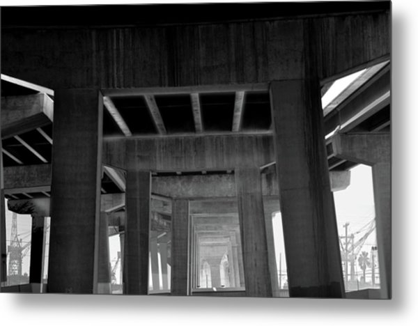 Freeway Metal Print by Larry Butterworth