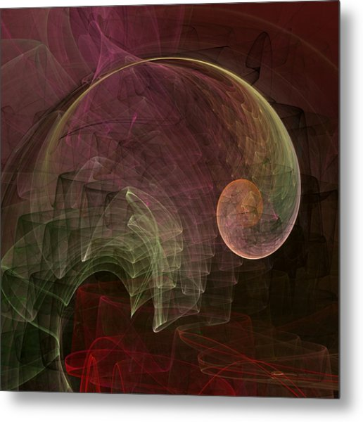 French Curve Metal Print