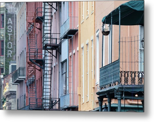 French Quarter Colors Metal Print