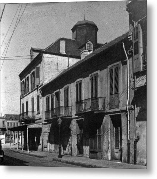 French Quarter Residences Metal Print
