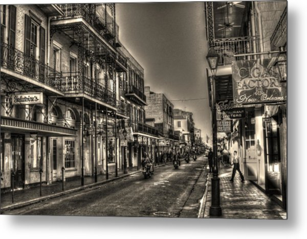 French Quarter Ride Metal Print