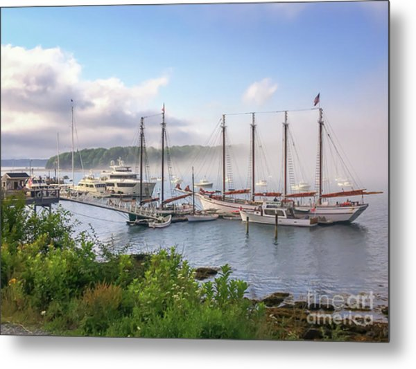 Frenchman's Bay Bar Harbor Metal Print