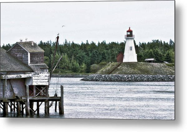 Friar's Head Lighthouse Metal Print
