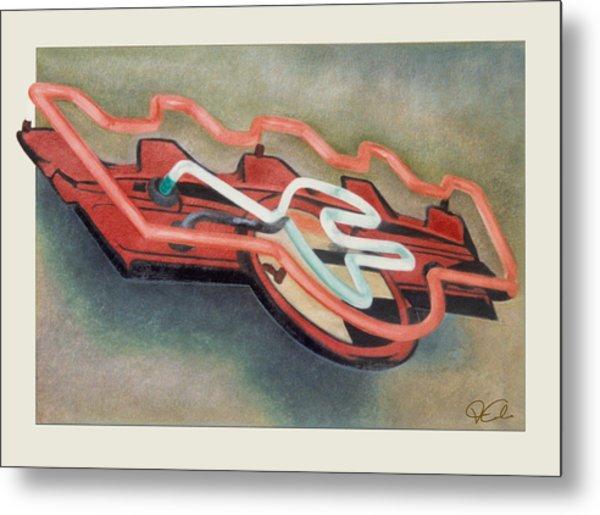 Frigidaire Metal Print by Van Cordle