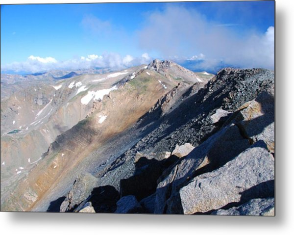 From Atop Mount Massive Metal Print
