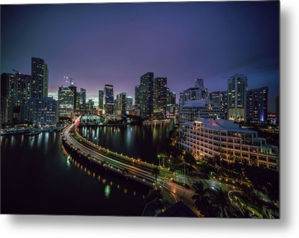 from Brickell Key II Metal Print