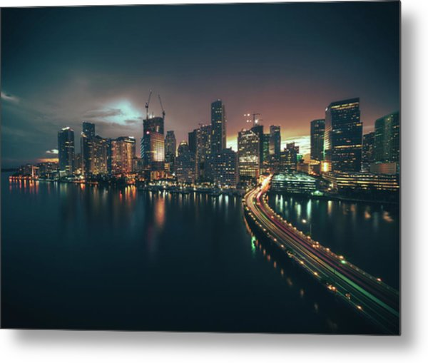 from Brickell Key Metal Print