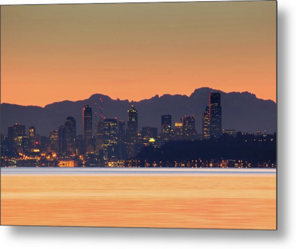 From Night To Day Metal Print