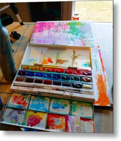 From #palette  To #paper ..adding Some Metal Print