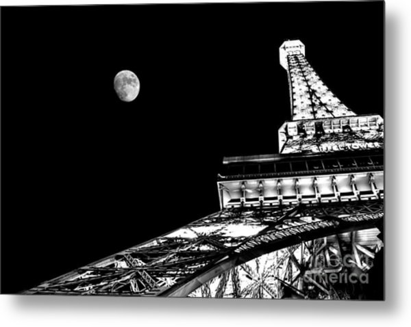 From Paris With Love Metal Print