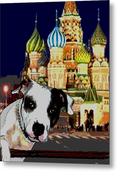 From Russia With Love Metal Print