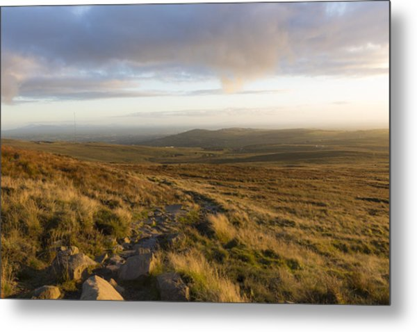 From The Black Mountain Metal Print