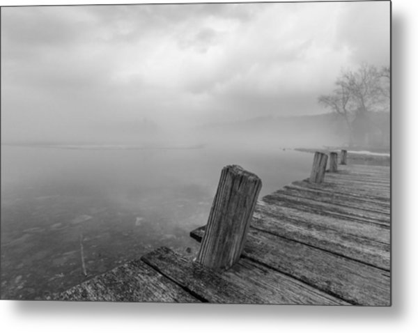 From The Dock Metal Print