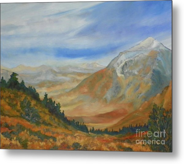 From The Grade Mt Tom Metal Print