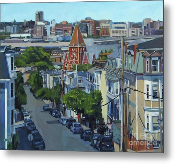 From The Heights To Boston Metal Print