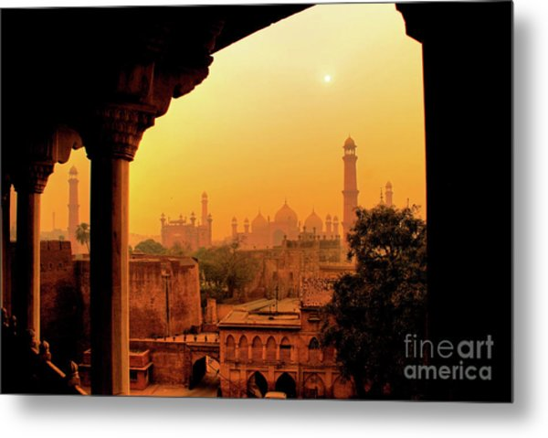 Metal Print featuring the photograph Mughal Empire  by Awais Yaqub