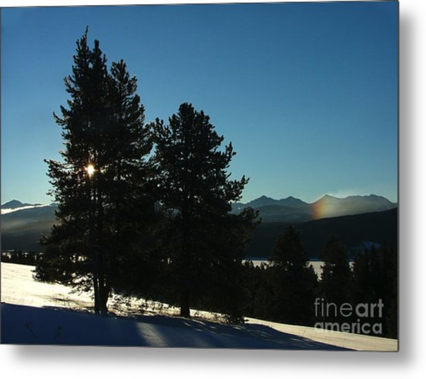 Frostbow Metal Print