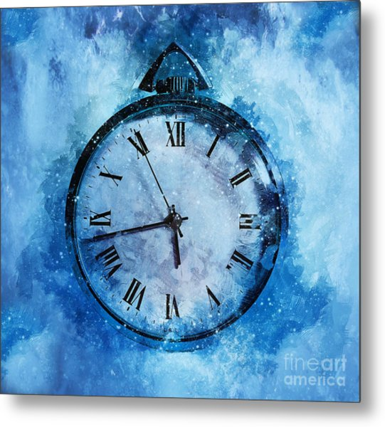 Frozen In Time Metal Print