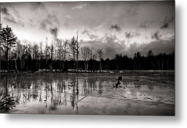Frozen Landscape  Metal Print by Edward Myers